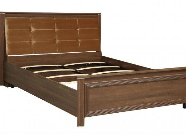"""Кровать двухспальная 06.300 """"Моника"""" с ортопедическим основанием (1600) (дуб кальяри)"""