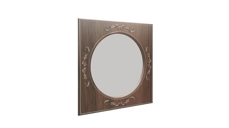 """Зеркало навесное """"Каролина"""" (патина)"""